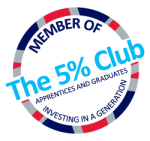 The 5pc Club logo RGB